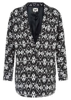 Black and white coat matalan