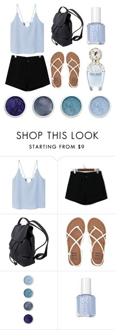 """""""Blue Shopping Casual"""" by taylor-1097 on Polyvore featuring MANGO, WithChic, Billabong, Terre Mère and Marc Jacobs"""