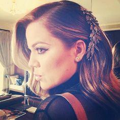 Khloe Kardashian's Hair Jewels -- Copy Her Bling Style