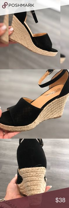 22112da8a19 18 Best Black espadrilles images in 2018 | Espadrilles, Black ...