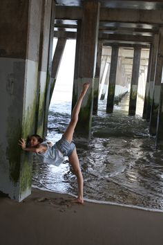 Little Dancer at the pier.