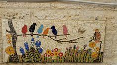 Mosaic - Birds on a tree
