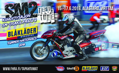 Kiihdytysajon SM-osakilpailu 2, Blåkläder Summer Nats - liput - Alastaron Moottorirata, Virttaa - 16. - 17.6.2018 - Tiketti Summer, Motorcycle, Events, Vehicles, Summer Time, Motorcycles, Car, Motorbikes, Choppers