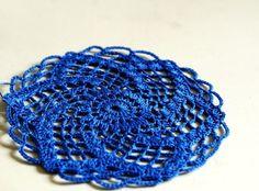 Crocheting #Blue #CottonLaceYarn