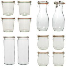 Weck, the ultimate jars for preserving your food.