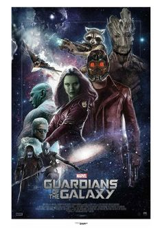 Guardians of the Galaxy by Paul Shipper. (Great movie!!!)