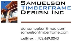Samuelson Timberframe Design Inc. is a design studio committed to providing innovative custom timber frame design, illustrations & animations, and complete construction drawings for the discerning home owner. Construction Drawings, Timber Frame Homes, House Design, Building Plans, Timber Frame Houses, Architecture Illustrations, House Plans, Design Homes