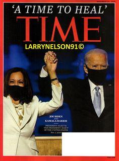 TIME MAGAZINE NOVEMBER 23 2020 JOE BIDEN KAMALA HARRIS TIME TO HEAL DONALD TRUMP November 23, Kamala Harris, Time Magazine, Joe Biden, Donald Trump