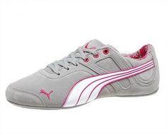 Tênis Puma Women's Takala 2 Suede Women's Shoes Limestone Gray-White-Beetroot Purple #Tênis #Puma