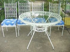 Salterini table and 4 chairs offered on eBay starting at $650.00