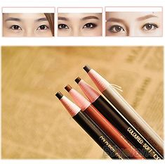 5Pcs/set Makeup Cosmetic Eye Liner Eyebrow Pencil Brush Tool ** You can get more details by clicking on the image.
