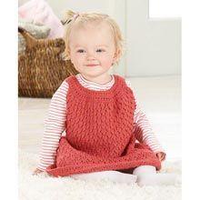 Little Raspberry Party Dress Knit Pattern - Willow Yarns