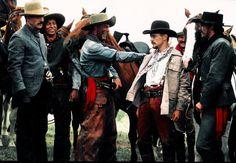 Tombstone.  From Left. John Tenny, Steven Lang, Jason Priestley and John Corbett.  #josephporrodesigns