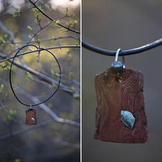 A true love story - wood & stone 🤎💙 Wooden Jewelry, Diy Jewelry, Jewelry Rings, Jewelery, T Shirt Remake, Climbing Rope, True Love Stories, Wood Stone, Old T Shirts