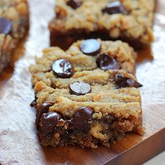 Healthy Blondies and Bars