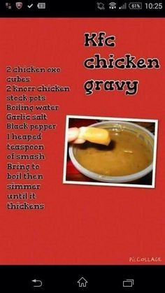 Slimming World KFC chicken gravy Slimming World Gravy, Slimming World Fakeaway, Slimming World Treats, Slimming World Tips, Slimming World Dinners, Slimming World Recipes Syn Free, Kfc Chicken Slimming World, Slimming Eats, Molho Gravy
