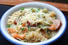 gluten-free garlic cream pasta | Gluten Free & Other Allergen Free Recipes