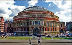 The Royal Albert Hall, South Kensington area of the Royal Borough of Kensington and Chelsea, London, England,