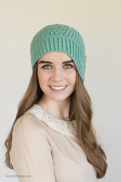 Hopeful Honey | Craft, Crochet, Create: Weeping Willow Cloche Hat - Giveaway + Crochet Pat...