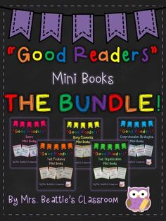 """HUGE """"Good Readers"""" Mini Book Bundle - This bundle covers a HUGE variety of reading skills in a fun, hands-on way!.  A GIVEAWAY promotion for"""