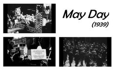 Featured Film: June 2016. This rare short film shows an anti-fascist march from Bermondsey to Hyde Park organised before the outbreak of WWII. The people of Bermondsey were very pro-active in showing their support during the war - however, there was a great deal of opposition among the men and women of Bermondsey before the outbreak of the war and this film shows some of them demonstrating with their floats through the streets of London onto a rally in Hyde Park. #Southwark #Film #Archives May Days, London Street, Local History, Hyde Park, Feature Film, Short Film, Rally, Wwii