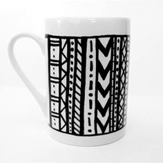 Learn how easy it is to create these Aztec Mugs yourself.