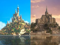 One of my favorite trips ever! 15 Real-World Locations That Inspired Disney Movies - Condé Nast Traveler