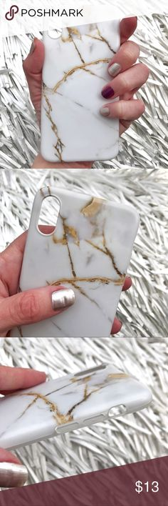 NEW iPhone X 10 Soft TPU IMD Marble Stone Case ▪️Fits The Upcoming iPhone X 10 !     ▪️High Quality Soft TPU - Thick & Shock-Resistant     ▪️IMD In-Mould Printed So Decoration Cannot Fade   ▪️Same or Next Business Day Shipping ! Accessories Phone Cases