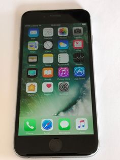 Apple iPhone 6 - 16GB - Space Grey (Unlocked) Smartphone