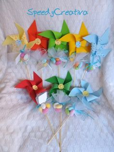 Wedding Shower Favors, Baby Shower Favors, Baby Wedding, Little Star, Spring Crafts, Pinwheels, Baby Knitting, Confetti, Gifts For Kids