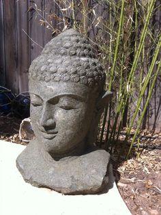 Love Love Love this Buddha head!