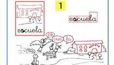 Lectoescritura paso a paso sílabas inversas es-escuela as-es-is-os-us
