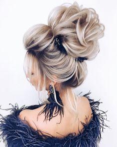 102 Beautiful Wedding Hairstyles And Bridal Hair Ideas Long Hair Wedding Styles, Wedding Hairstyles For Long Hair, Wedding Updo, Bride Hairstyles, Wedding Makeup, Updo Hairstyle, Pinterest Hair, Bridesmaid Hair, Hair Designs
