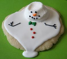 Melted Snowman Cookie Tutorial. Part 1 - The Cookie Dough
