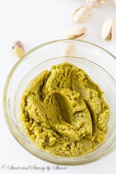 Super easy homemade pistachio paste. No more expensive jars, and more natural homemade goodness!