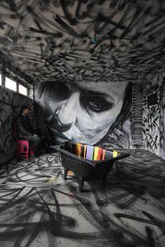 ART URBAIN : Le travaille de David Walker ! LUV !