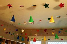 fiesta de payasos Fiesta de cumpleaños con conos de payaso