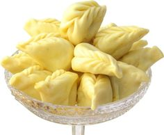 Culurgiones are an italian gourmet pasta typical from Sardinia. They are filled with an amazing mix of pecorino cheese, potato cream and mint. http://www.foodsandgoods.com