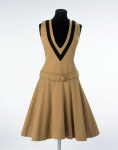Mary Quant dress ca. 1961 via The Victoria & Albert Museum