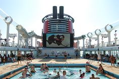 Disney Dream Cruise. Would be a great family vacation once kids are old enough to remember and enjoy it