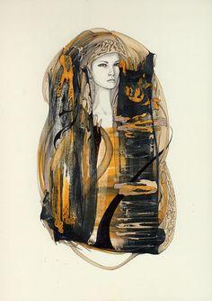 Olenta  A5  Original artwork  Reece Hobbins $60.00
