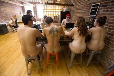 What Our Office Learned Working Naked for One Month (Ironically NSFW) - The Bold Italic - San Francisco