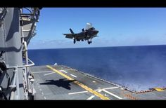 This Fighter Jet Is Impressive To Begin With, But When It Starts To Land I Was Blown Away