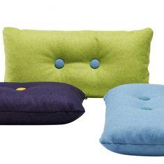 Knapper i puder ala Hay? Hay Design, Chaise Bar, Lounge, Cushions, Pillows, Seat Pads, Nordic Design, Backrest Pillow, Danish Design