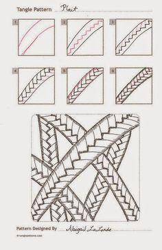 Zentangle, rustgevend tekenen: Zentangle basis patronen, stap voor stap 3