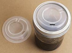 Cuppow Mason Jar Lid — PERSONAL -- Better Living Through Design