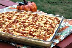 Easy Pumpkin Caramel Poke Cake | The perfect pumpkin dessert for Thanksgiving!