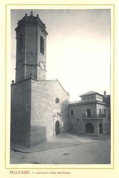 Iglesia parroquial de Bellcaire (Lérida).