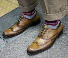 Amazing Wingtip Shoes.