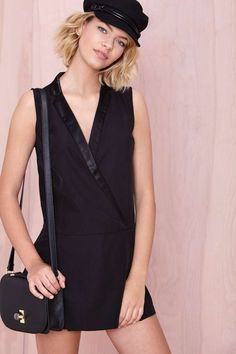Like Nobody's Business Tuxedo Dress | Shop What's New at Nasty Gal